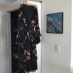 Beautiful black floral dress